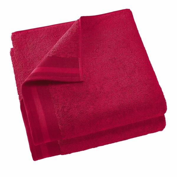 Keukenhanddoek Excellence 60x40 ruby red