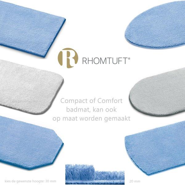 Compact of Comfort badmatten in 99 kleuren maatwerk, vanaf