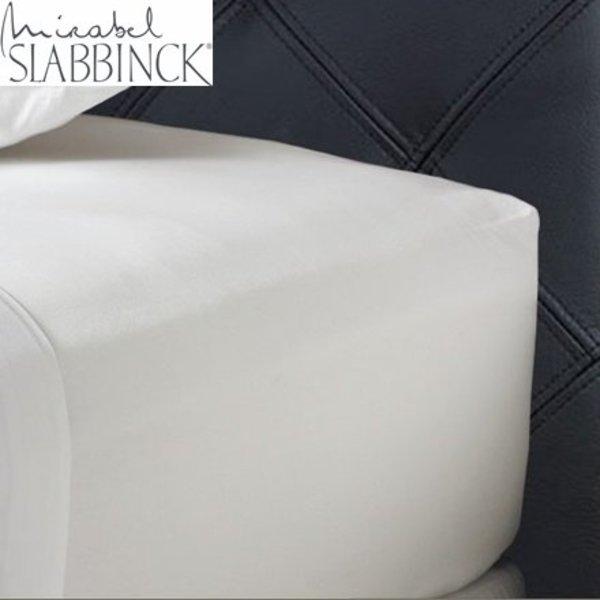 Hoeslaken 31-35 cm hoog 100% linnen rondom elastiek
