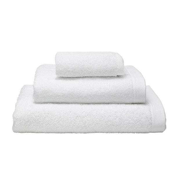 Essentiel biologisch badgoed blanc (wit), vanaf