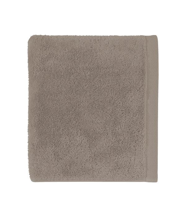Alexandre Turpault Essentiel biologisch badgoed ombre / taupe, 650 gram per m²