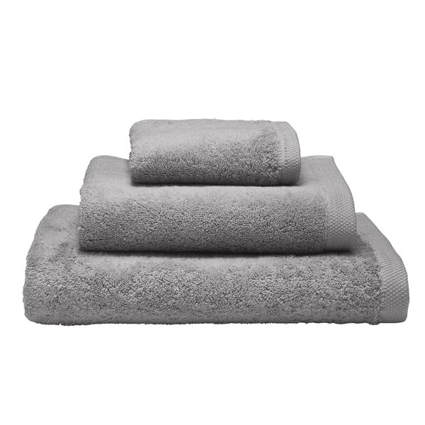 Essentiel biologisch badgoed galet / stone grey