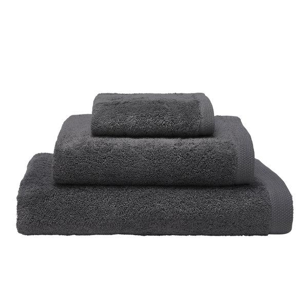 Essentiel biologisch badgoed graphite grey