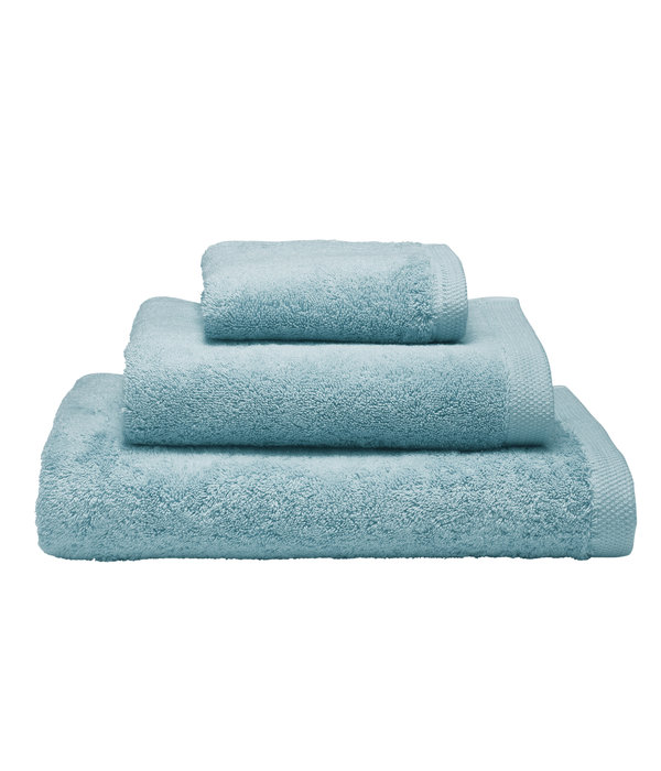 Alexandre Turpault Essentiel biologisch badgoed iceland blue, 650 gram per m²