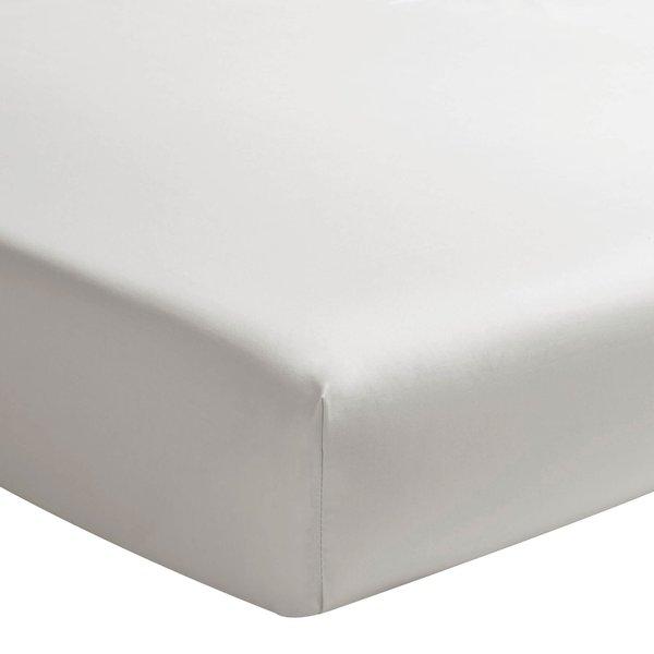 hoeslaken 200TC gris perle, matras tot 20 cm hoog vanaf