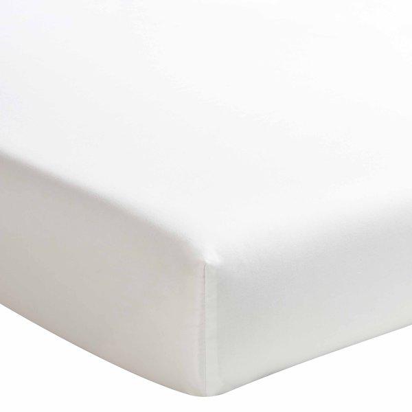 hoeslaken 200TC meringue (offwhite), matras tot 20 cm hoog, vanaf