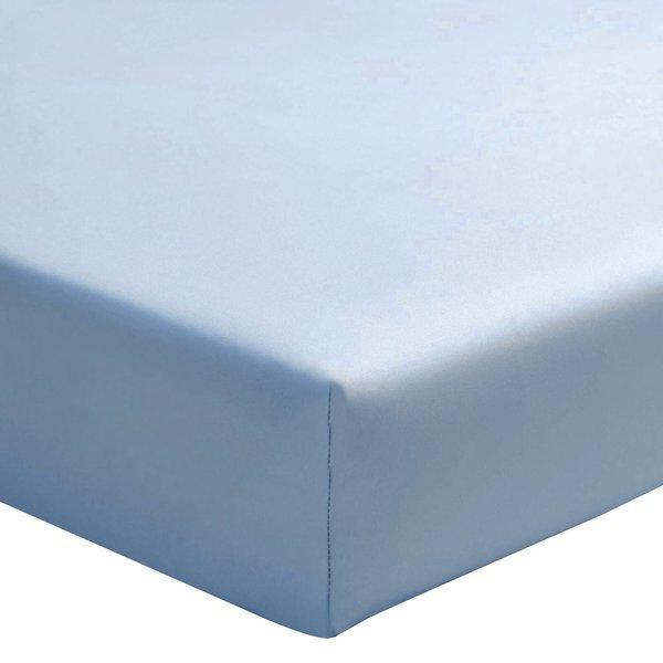 hoeslaken 200TC céleste, matras tot 30 cm hoog