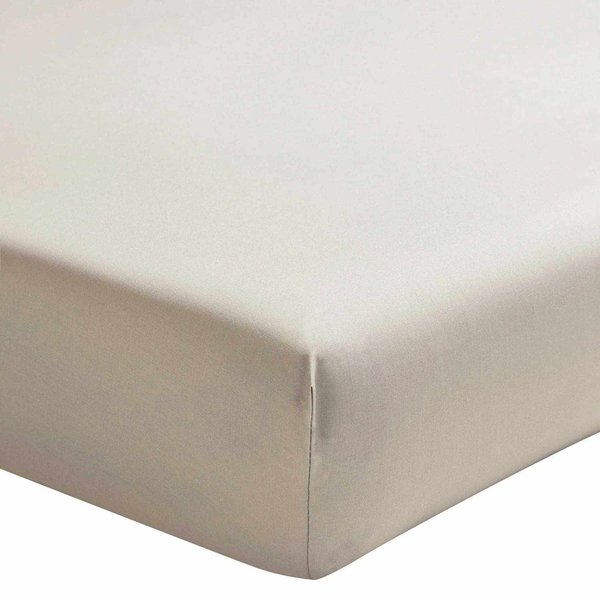 hoeslaken 200TC lin (taupetint), matras tot 30 cm hoog, vanaf