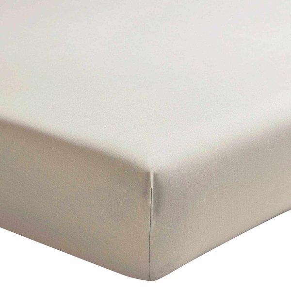 hoeslaken 200TC lin (taupetint), matras tot 20 cm hoog, vanaf