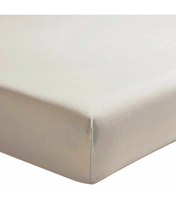 Essix hoeslaken 200TC lin (taupetint), matras tot 20 cm hoog
