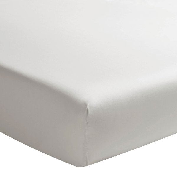hoeslaken 200TC gris perle, matras tot 40 cm hoog, vanaf