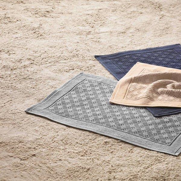 Fenice badmatten 60x90, kleur kiesel