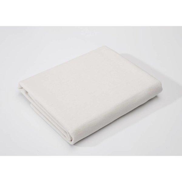 molton matrasbeschermer met elastiek in de hoeken