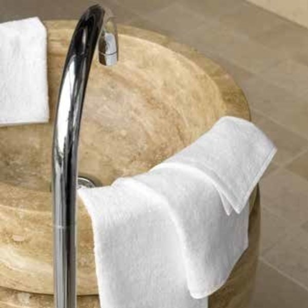 Waslapje wit 360 gr. p/m² 30x30 cm (per 12 stuks te bestellen)
