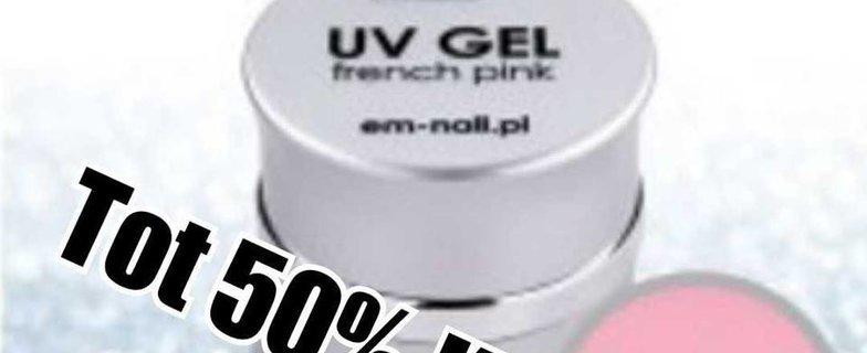 UV Gel va 50% korting