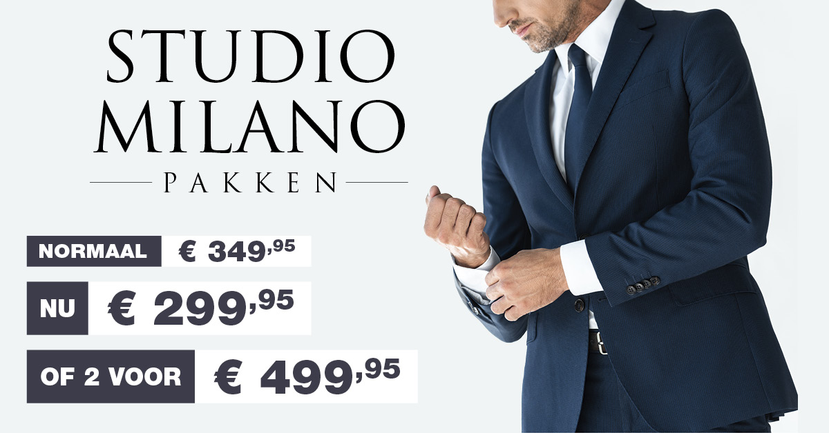 Studio Milano aanbieding