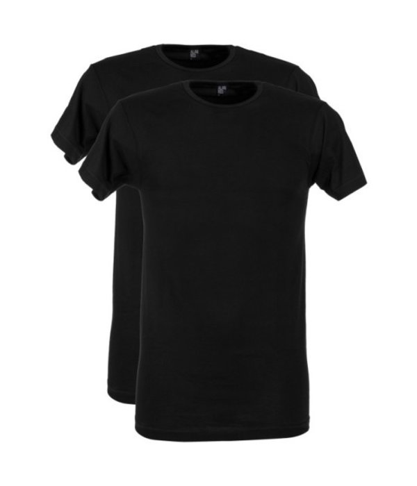 Alan Red & Co 2-pack T-shirts Alan Red & Co Black