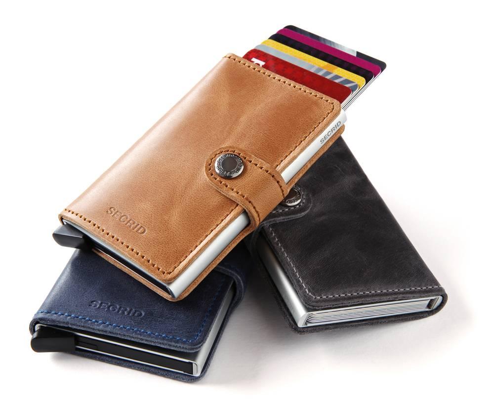 Bescherm jezelf tegen digitaal zakkenrollen met de wallets van Secrid