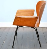Focus Chair Teak by A. Belokopytoff