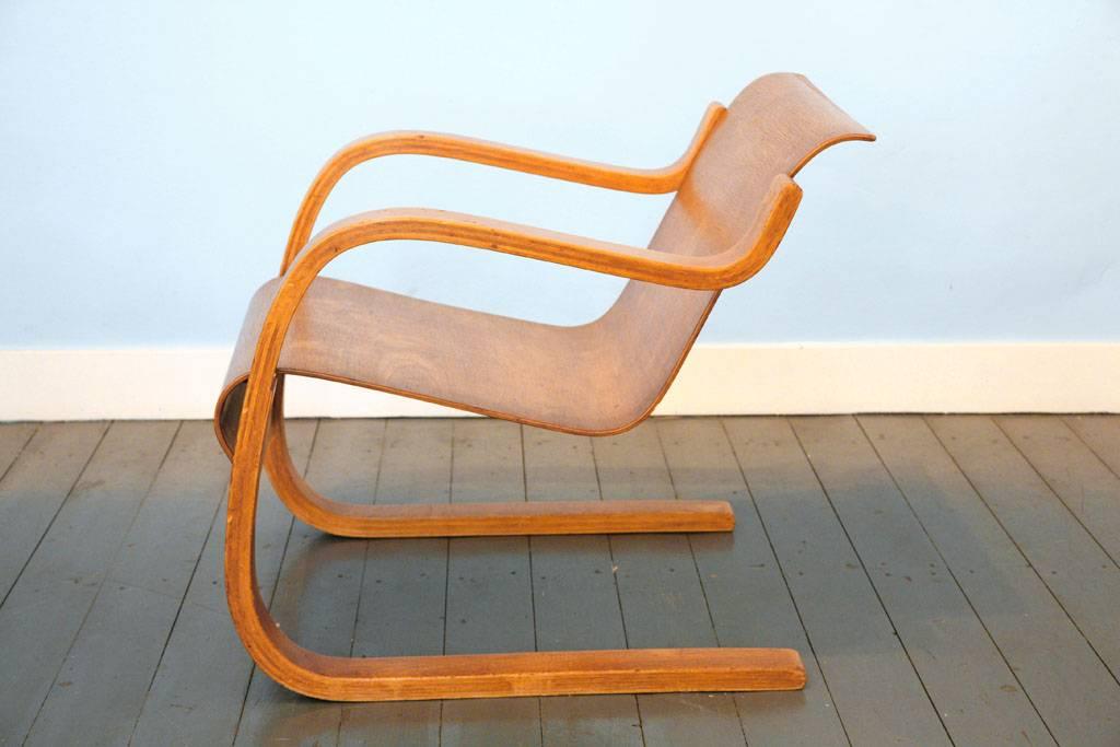 Cantilever Chair nr.31 door Alvar Aalto