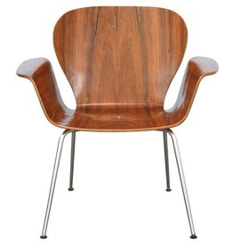 Focus Chair Rosewood by A. Belokopytoff
