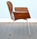 Focus Chair Rosewood by A. Belokopytoff