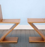 Gerrit TH. Rietveld ZigZag Chairs