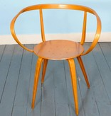 Pretzel Chair met armleuningen door George Nelson