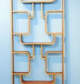 Czech Roomdivider Vintage Plywood