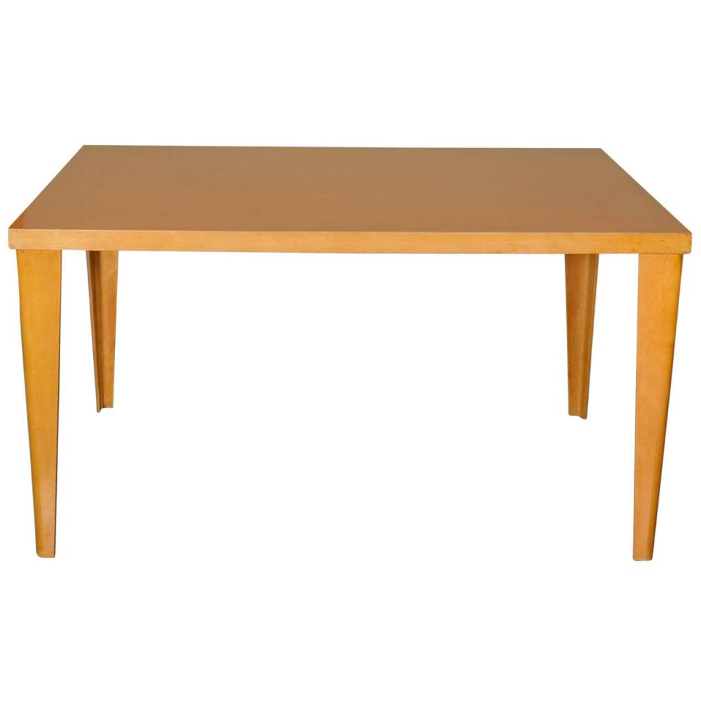 "Rare ""DTW"" Dining Table by Charles Eames"