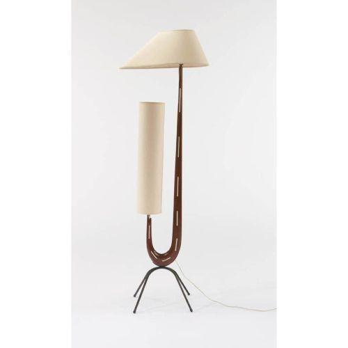 Harp Lamp 1950 door Rispal