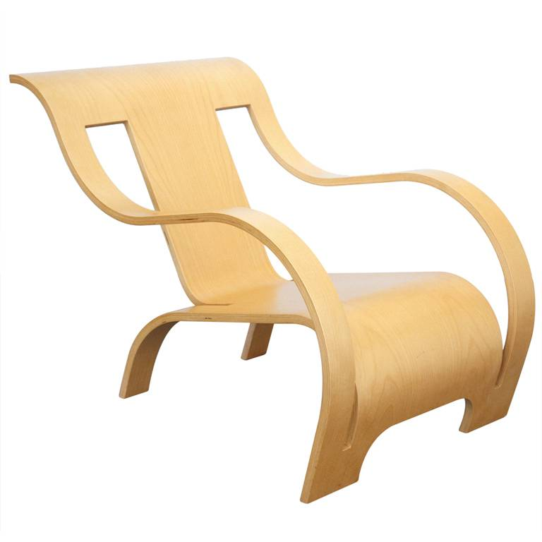 Peachy Plywood Lounge Chair By Gerald Summers Machost Co Dining Chair Design Ideas Machostcouk