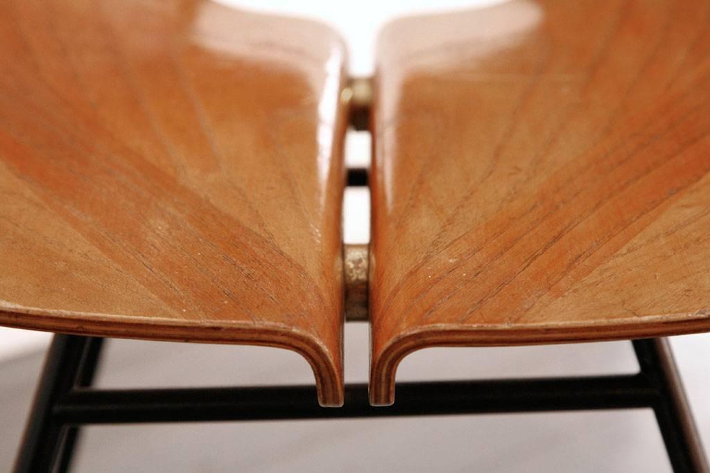Rare side chair by Osvaldo Borsani