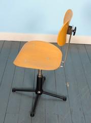Bureaustoel van Egon Eiermann voor Wilde & Spieth