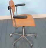 Plywood kantoor stoel van het Bureau voor Wilde & Spieth
