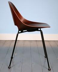 Vintage Plywood Chair van Leon Stijnen