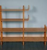 Zeldzaam plywood rek door Wilhelm Lutjens voor De Boer Gouda
