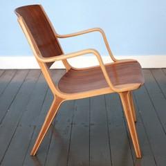 Model AX nr. 6020 stoel van Peter Hvidt & Orla Mølgaard Nielsen