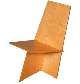 """Links """"Eenvoudig te monteren"""" stoel"""