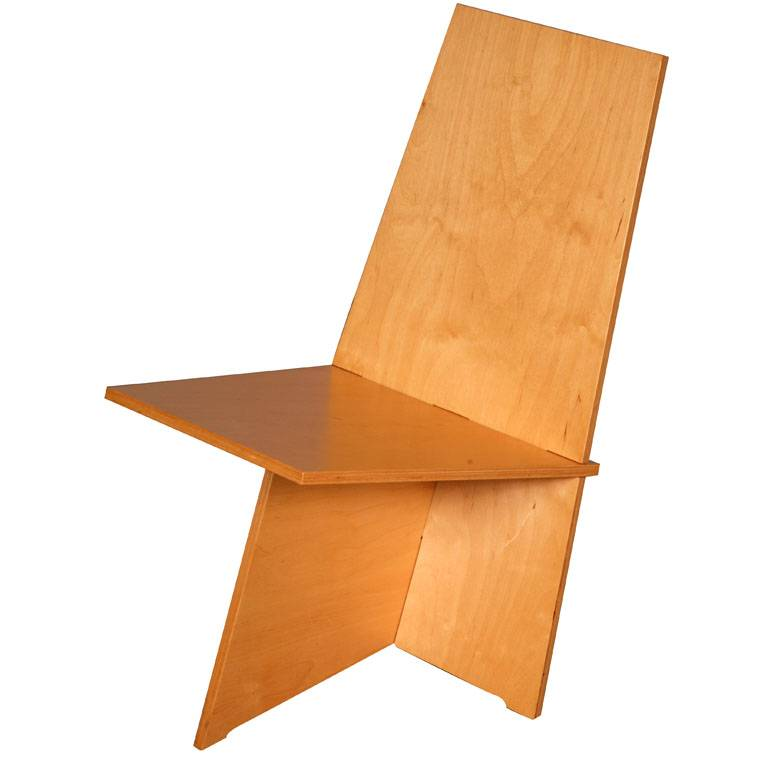 Easy to assemble chair by Karel Links