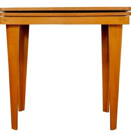 Plywood Vintage Tafel Den Boer Gouda