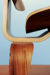 Eames Miller molded plywood lounge chair lcw