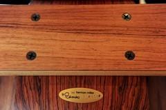 Eames Palisander lounge stoel LCW