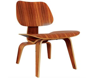 Lounge Stoel Eames.Eames Millers Molded Plywood Lounge Chair Lcw
