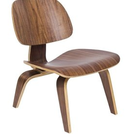 EAMES MILLER WALNUT LCW CHAIR