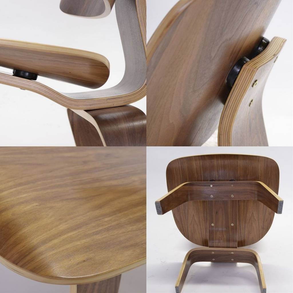 Eames Walnut Lounge Chair LCW