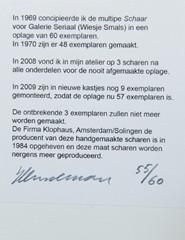 Schaar door Jeroen Henneman