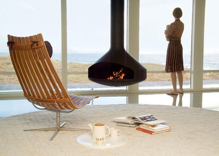 SCANDIA SENIOR swivel lounge chair door Hans Brattrud