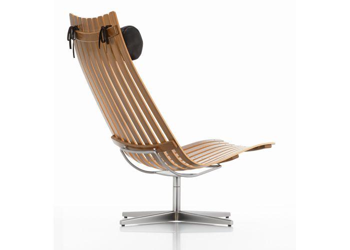 SCANDIA SENIOR lounge chair door Hans Brattrud