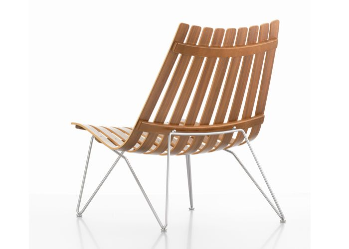 SCANDIA NETT Lounge chair by Hans Brattrud